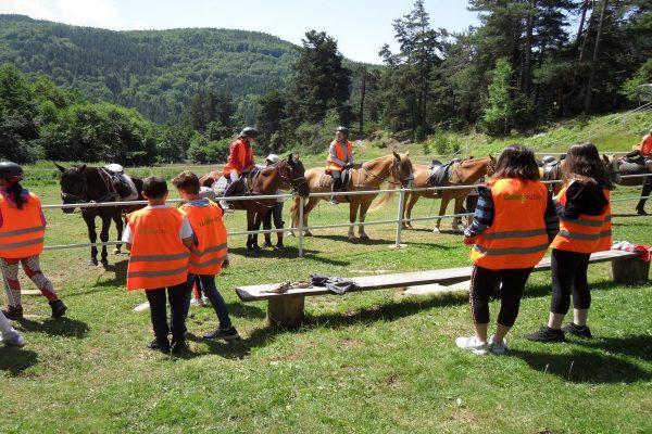 Детският лагер, който се откроява