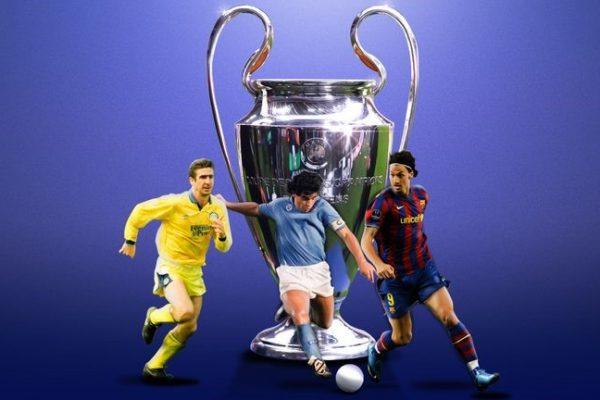Шампионската лига - полузащитници